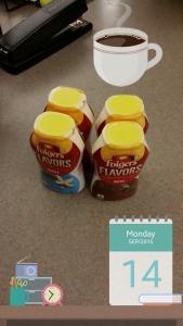 Folgers Flavor Enhancers at work