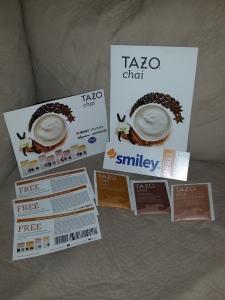 My Tazo Tea Smiley360 Mission Box