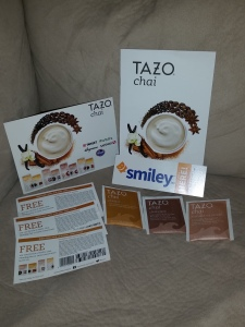 My Tazo Tea Smiley360 Mission Box